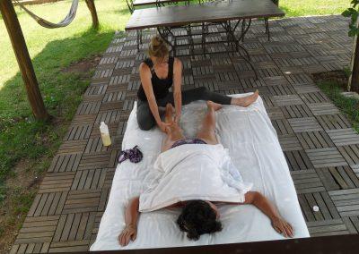 massaggio in natura